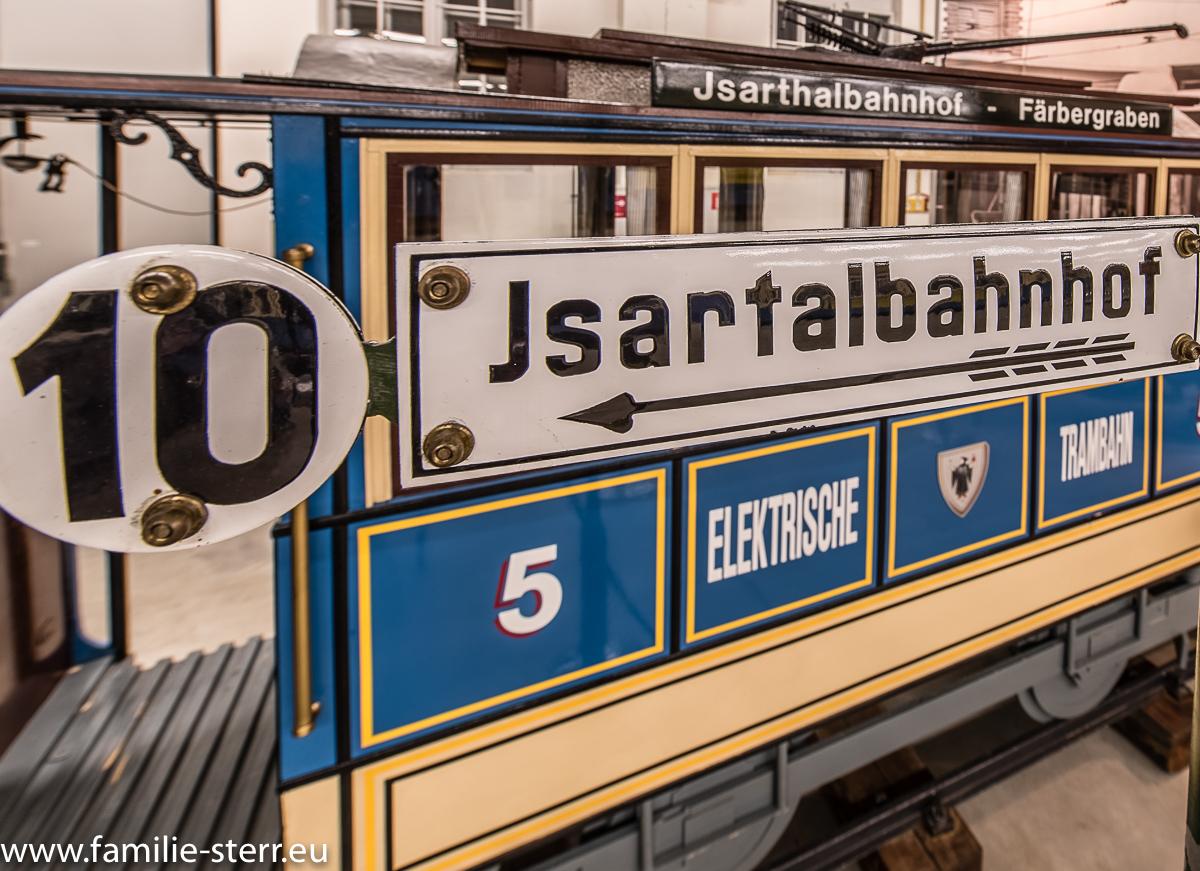 Elektrische Trambahn im MVG Museum