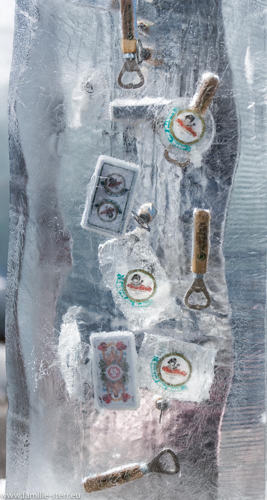Eiskunstwerk am Wendelstein