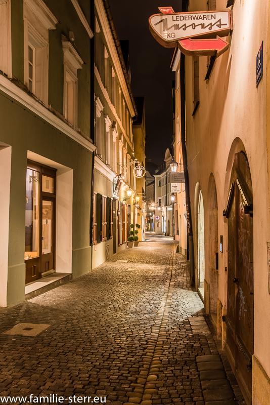 Gässchen in Regensburg