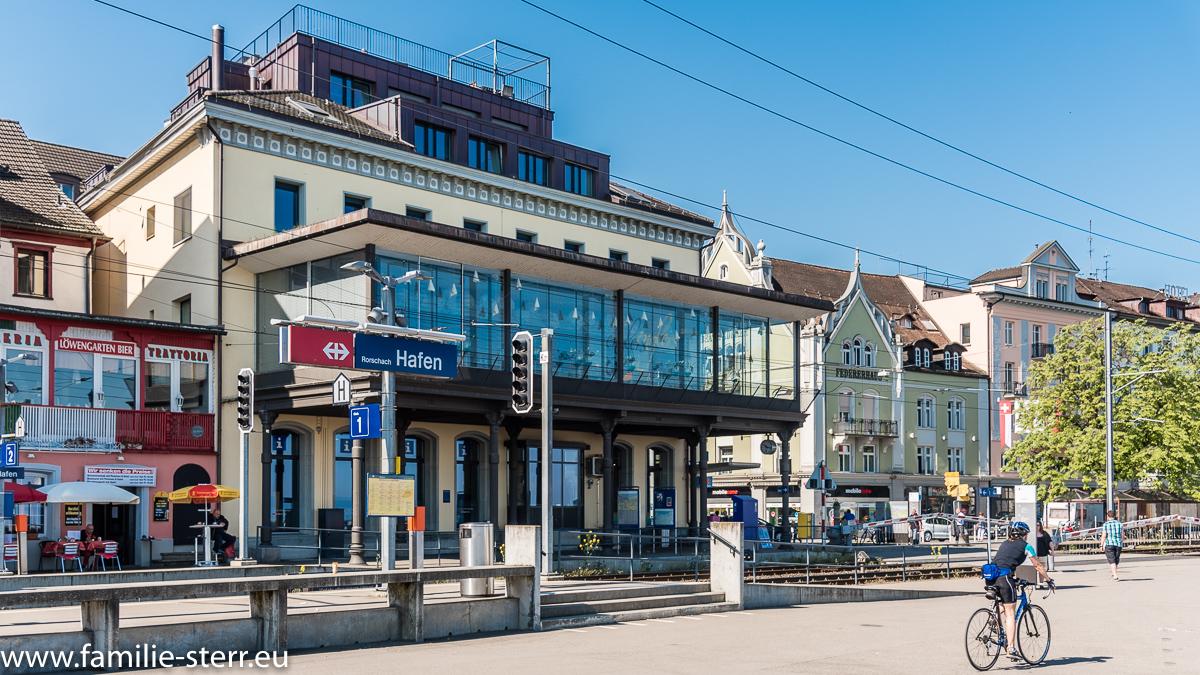 Bahnhof Rohrschach Hafen