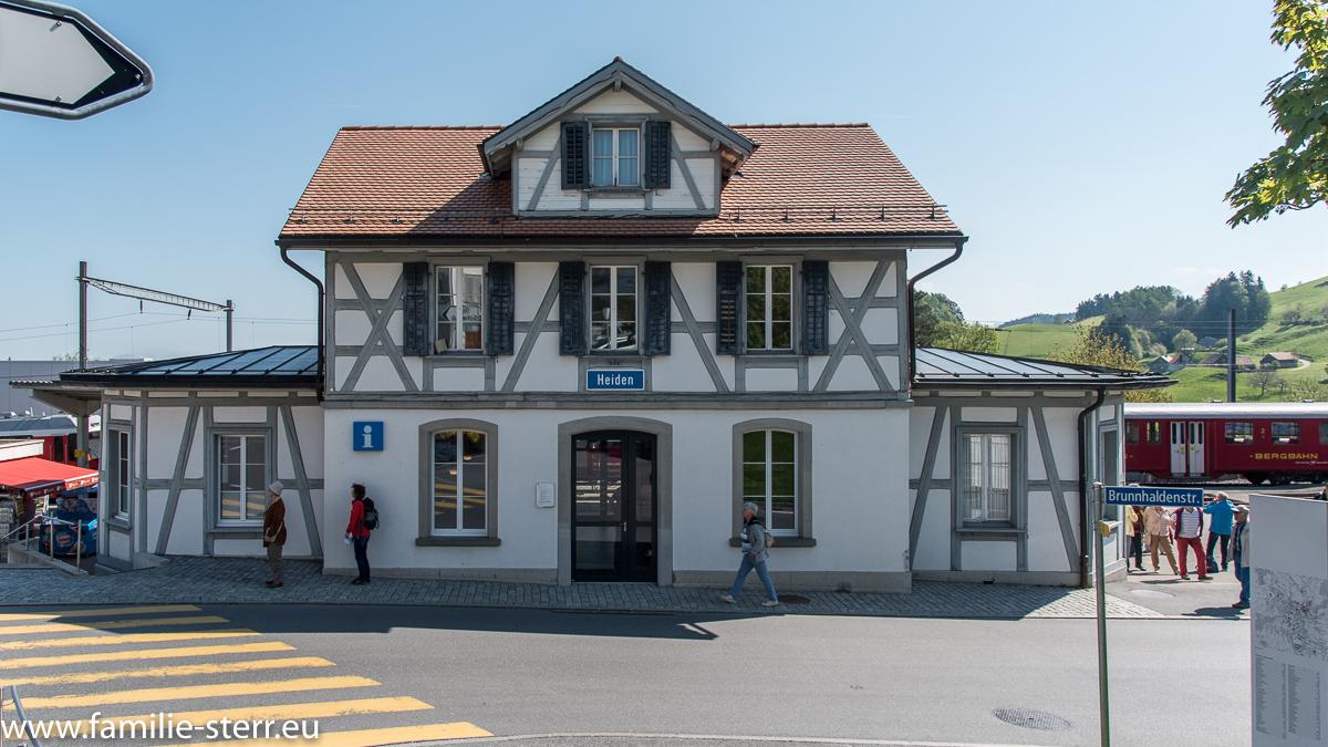 Bahnhof Heiden / Appenzeller Witzwanderweg