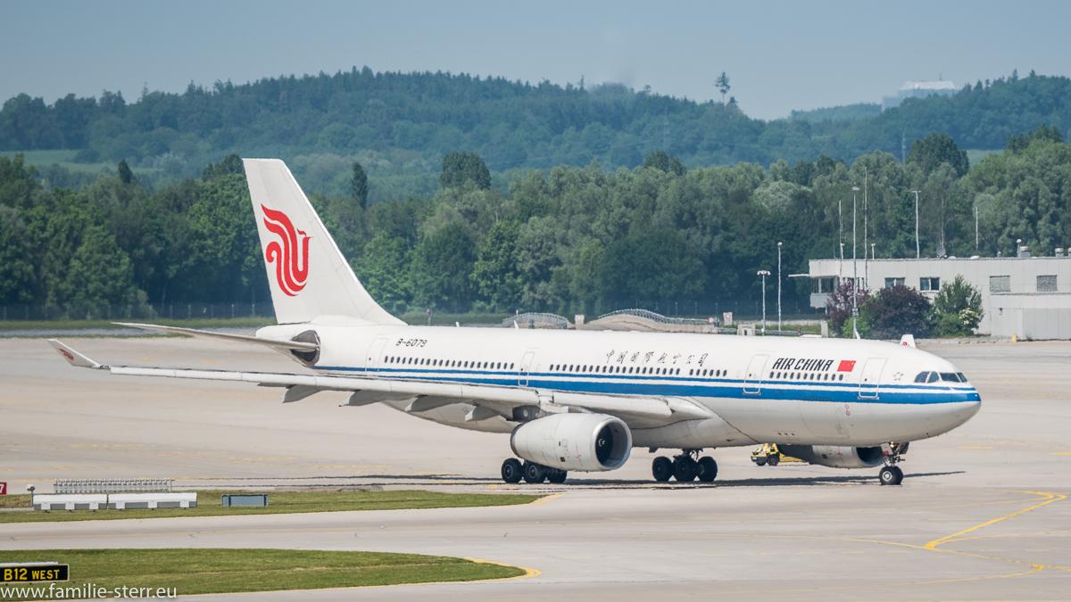 Air China A330 am Flughafen München