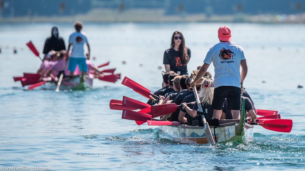 Drachenbootrennen in Oberschleißheim