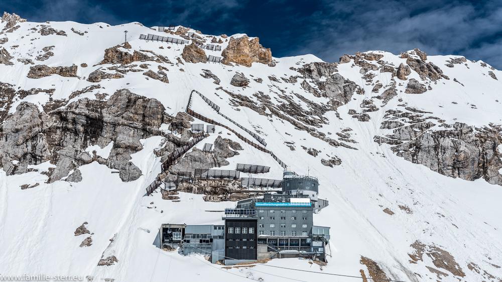 Die Umweltforschungsstation Schneefernerhaus im Juni 2016