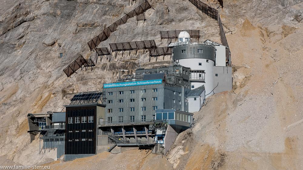 Die Umweltforschungsstation Schneefernerhaus im November 2015