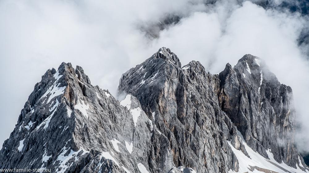 Felswand am Zugspitzplatt
