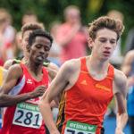 Läufer bei den Leichtathletik Bayerische Meisterschaften 2016 in Erding