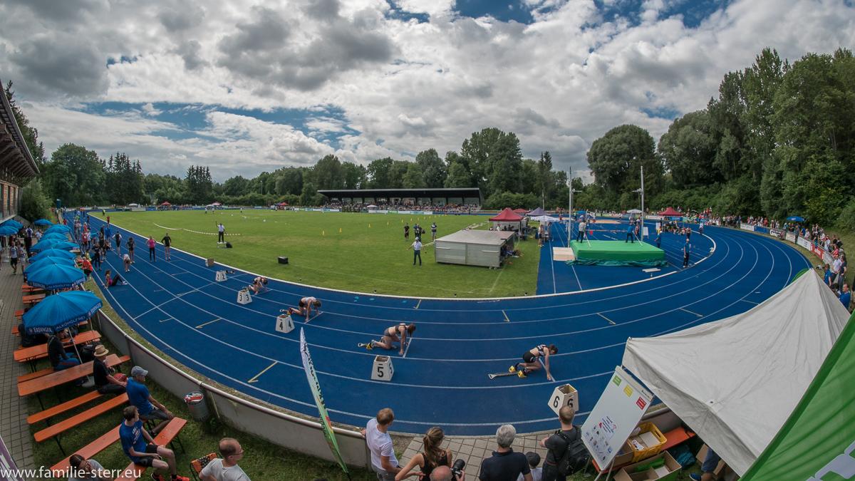 Sepp Brenninger Stadion - Leichtathletik Bayerische Meisterschaften 2016 in Erding