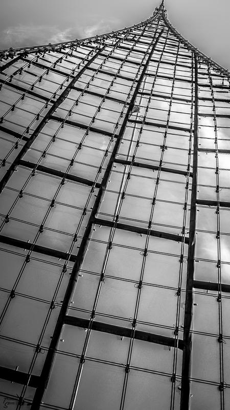Detailaufnahme vom Zeltdach im Olympiapark München