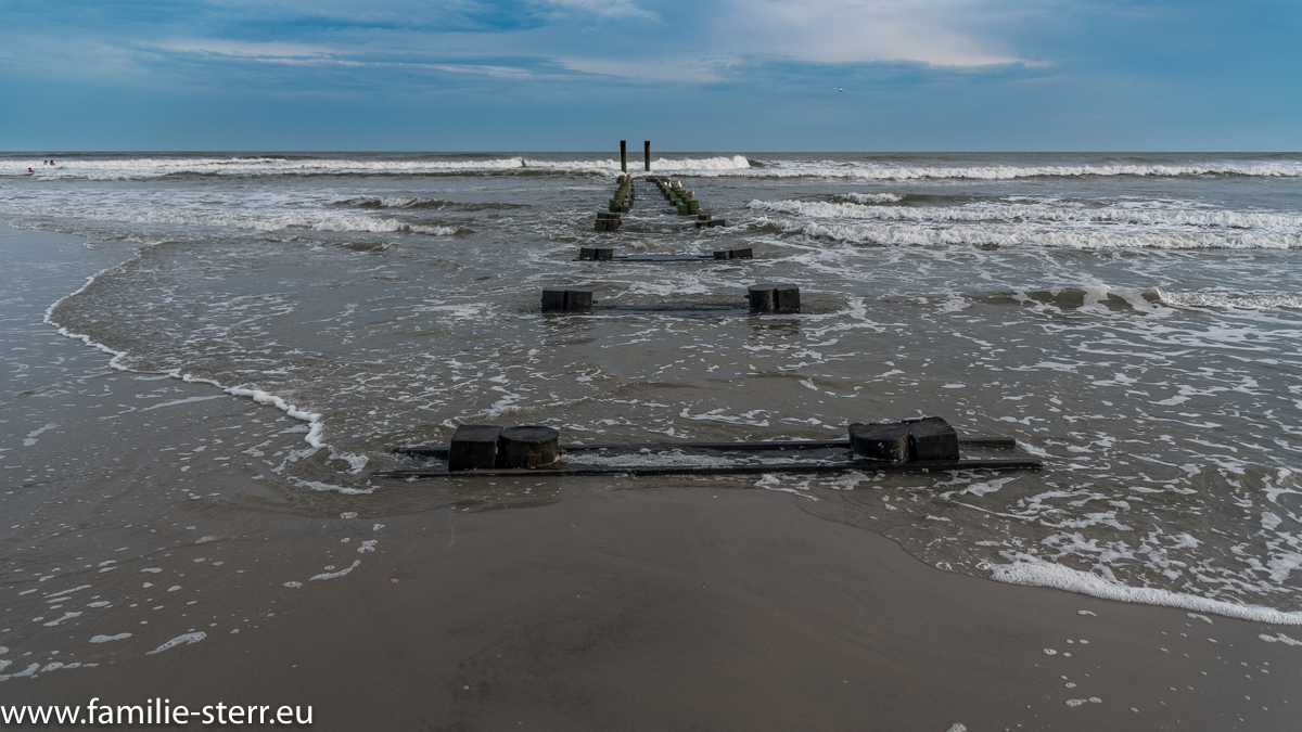 verfallener Steg in Atlantic City