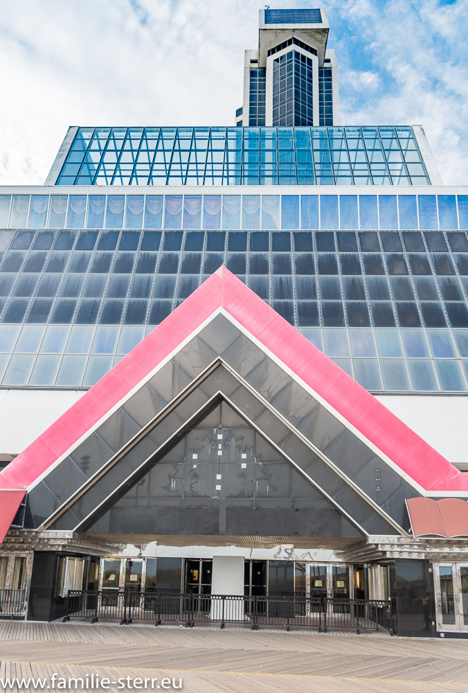 Atlantic City - leerstehendes Casino - Hotel