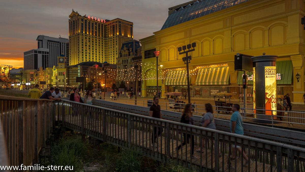 Atlantic City-Boardwalk-Caesars Palace