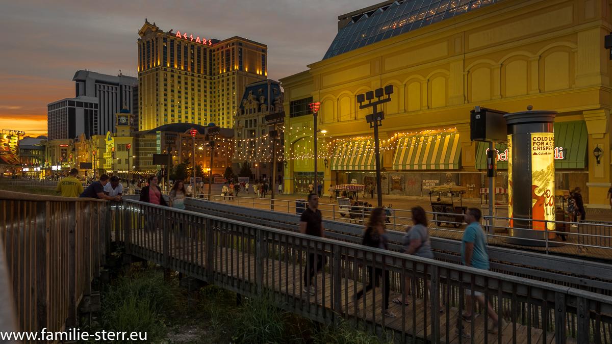 Atlantic City-Boardwalk-Caesars Palace