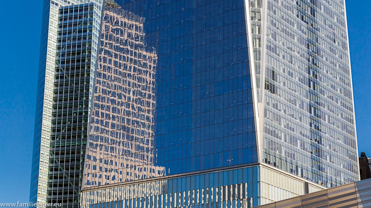 Fassade am World Trade Center