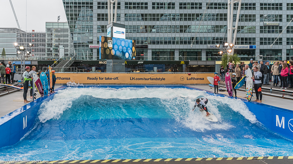 Surf and Style im Munich Airport Center