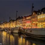 Nyhavn in der Weihnachtszeit