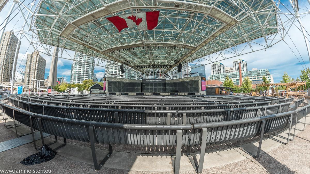 Bühne im Harboufront Centre in Toronto