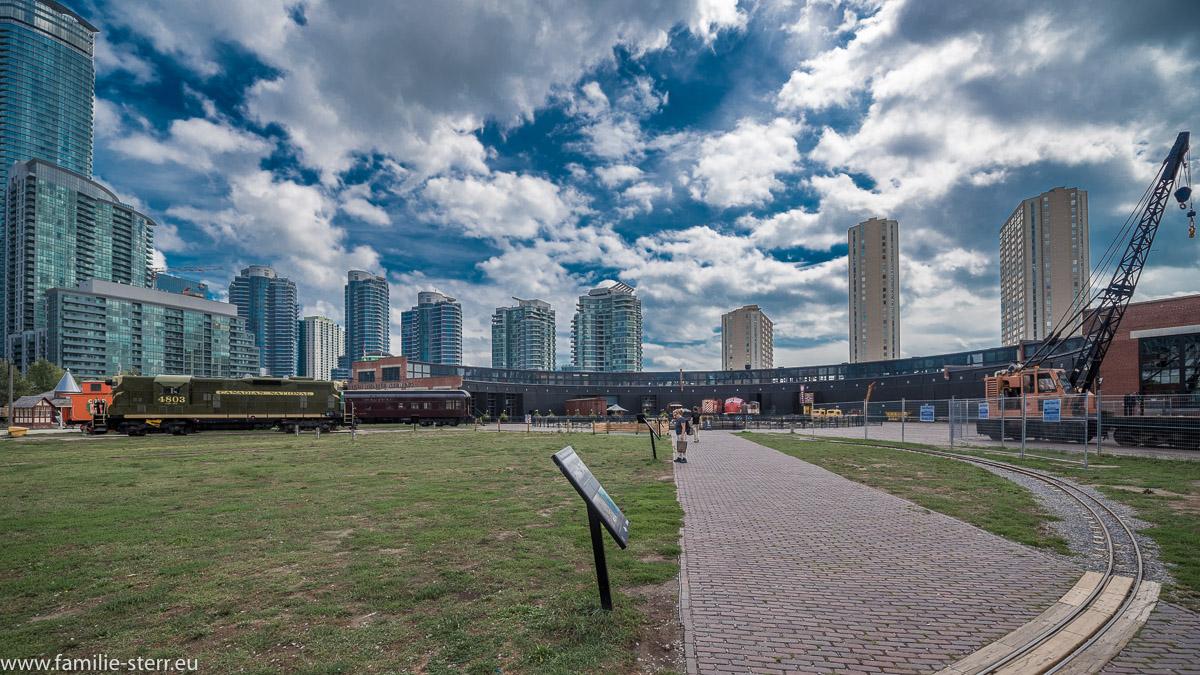 Eisenbahnmuseum der Canadian Railroad in Toronto