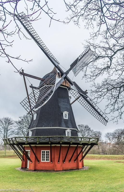 Windmühle im Kastellet in Kopenhagen