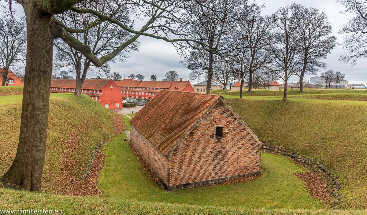 Waffendepot im Kastellet in Kopenhagen