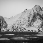 Blick von Steingaden in die Allgäuer Alpen