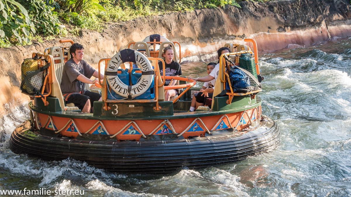 Floss auf den Kai River Rapids / Animal Kingdom / Disneyworld Florida