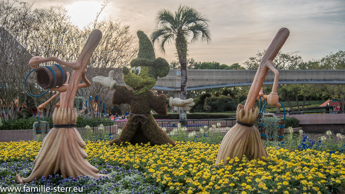 Mickey Mouse beim Flower Festival 2017 in EPCOT