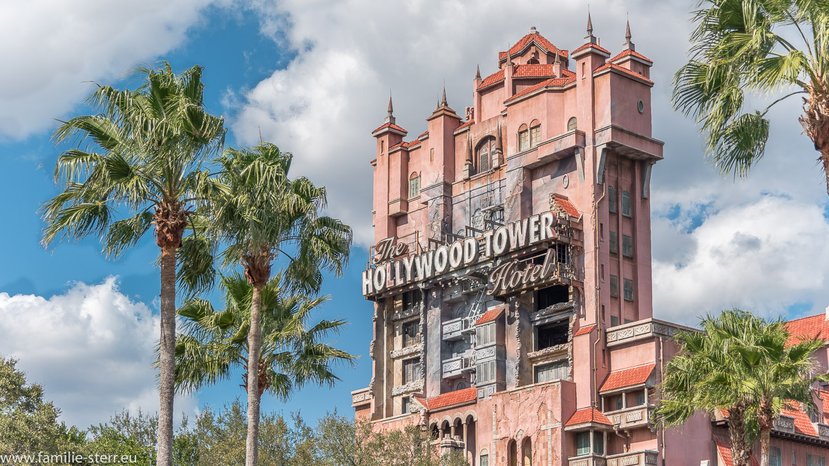 Hollywood Tower of Terror / Fahrgeschäft in den Disney Studios / Florida