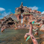 Wasserbahn Splash Mountain im Magic Kingdom
