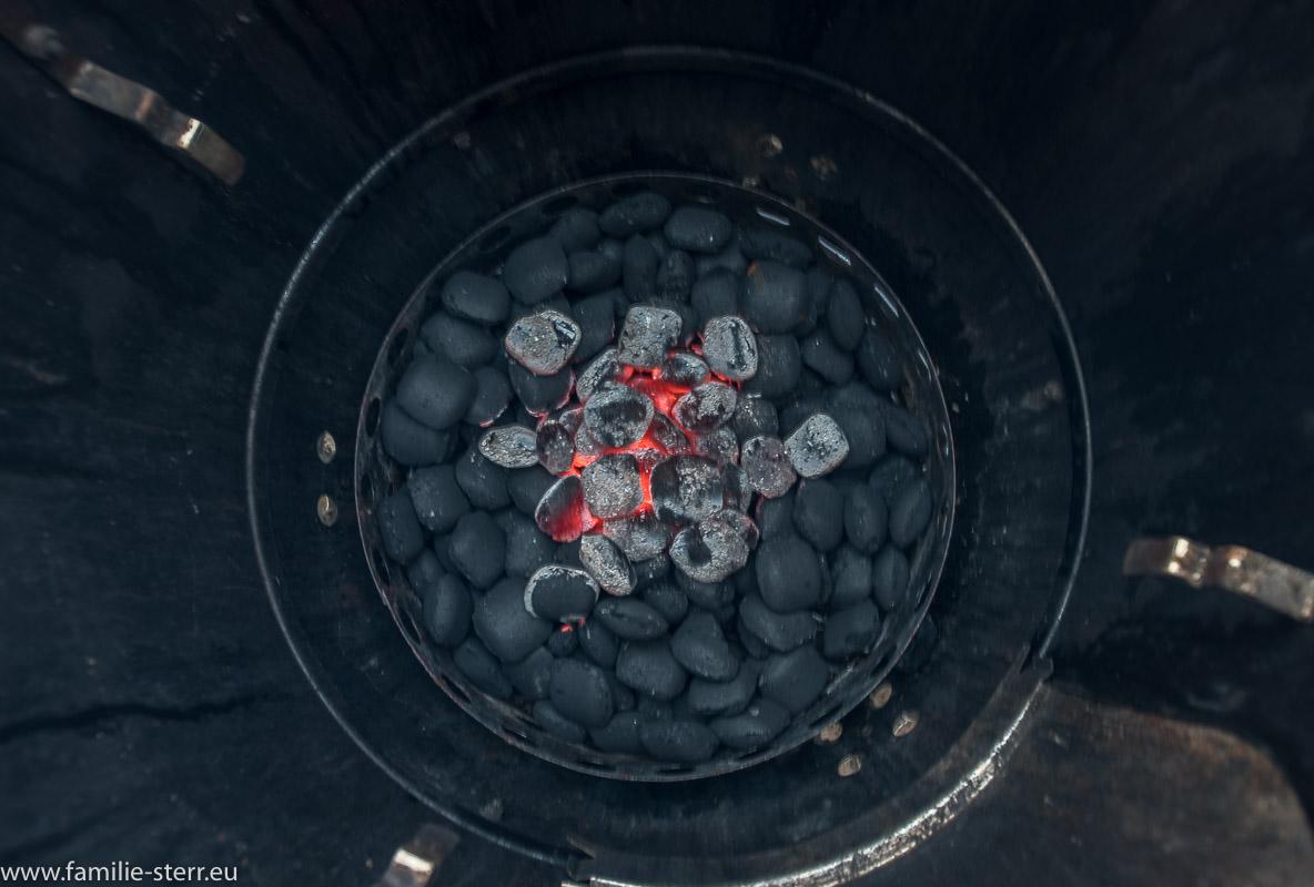 einfacher Minionring im Barrel - Smoker