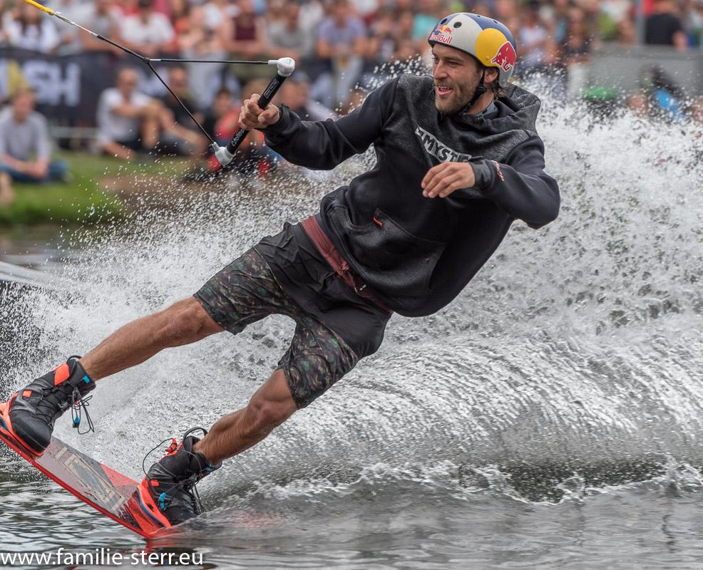 Wakeboarder auf dem Olympiasee