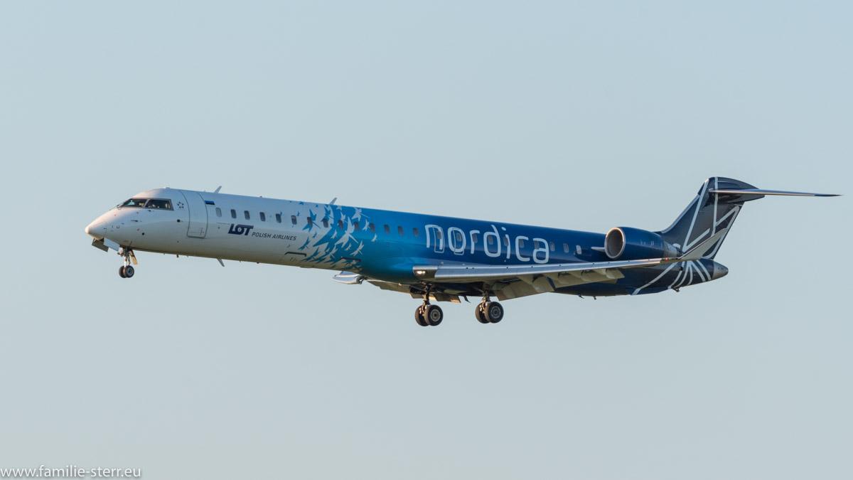 LOT nordica Canadair CRJ900