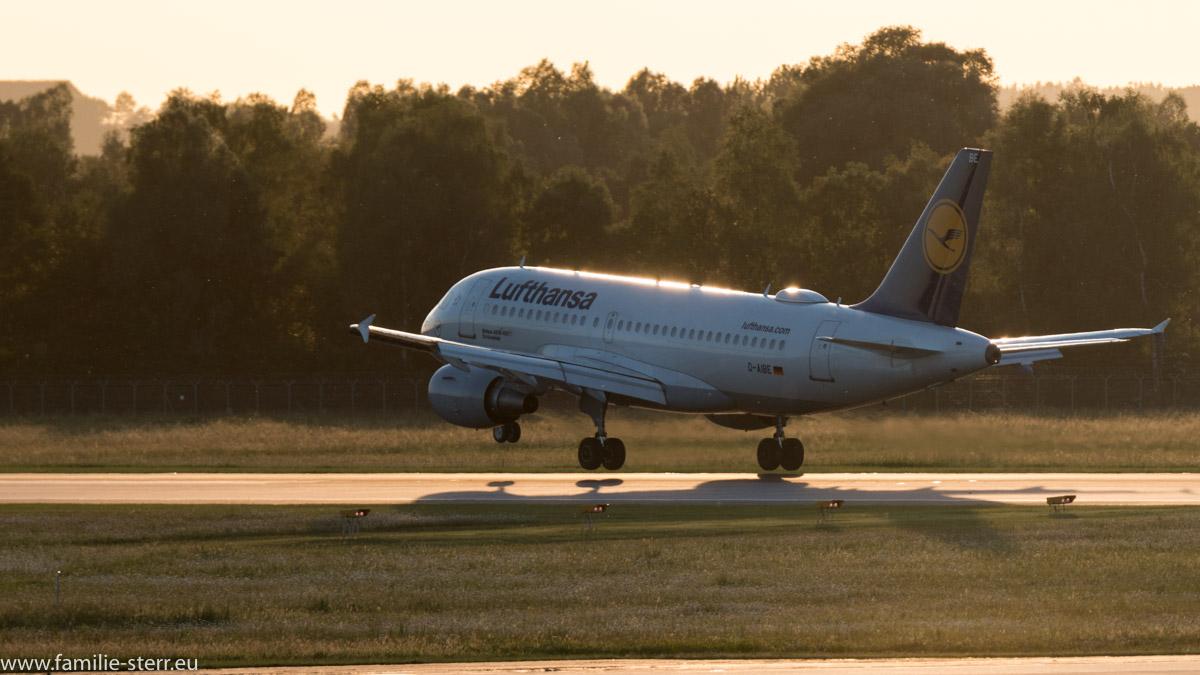 Lufthansa Airbus A319-112 D-AIBE