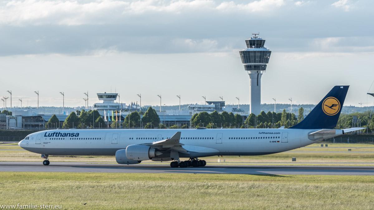 "Lufthansa Airbus A340-642 D-AIHE ""Leverkusen"""