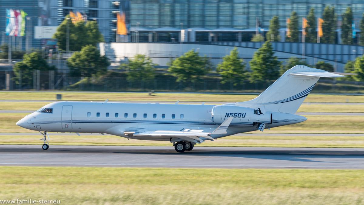 Privatjet Bombardier BD-700-1A11 Global 5000 N56OU