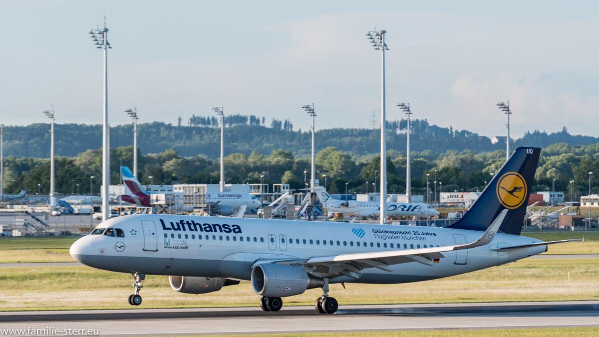 Lufthansa Airbus A320-2014 D-AIUQ