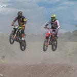 Motocross - Wettbewerb des MSC Freisinger Bär auf der Motocross - Anlage am Flughafen München