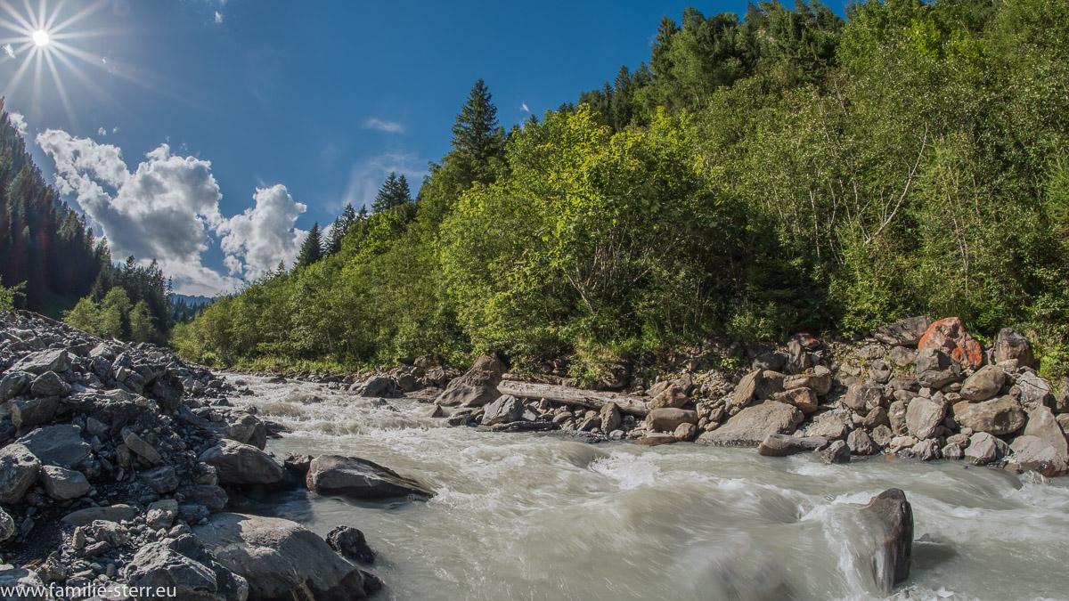 Tamina - Gebirgsfluss in St. Gallen
