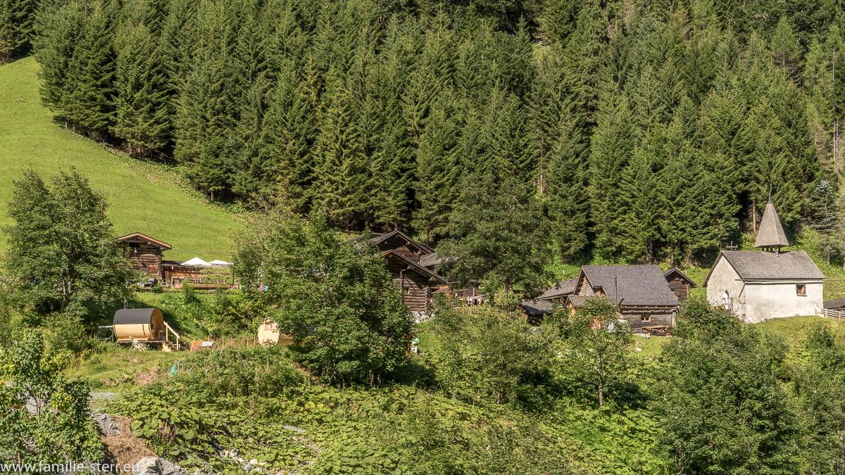 Das Dorf Sankt Martin, SG, über dem Gigerwaldsee