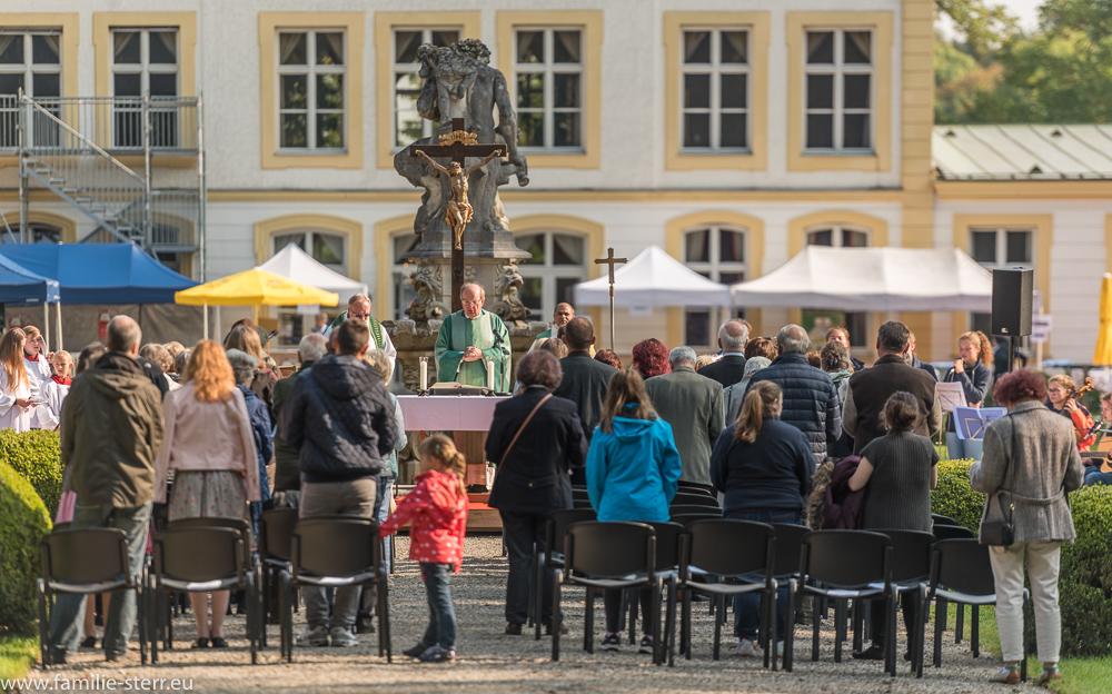 Festgottesdienst zum Tag der offenen Tür 2017 im Schloss Fürstenried