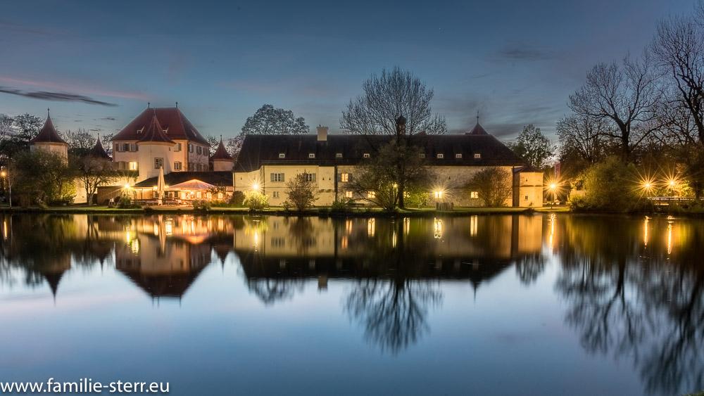 Blaue Stunde am Schloss Blutenburg