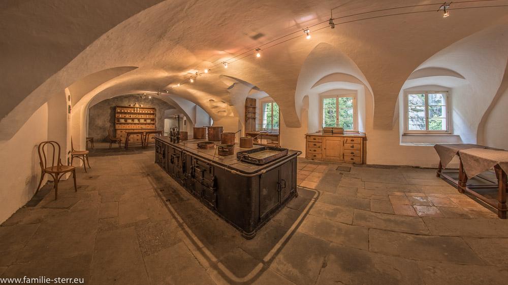 Alte Küche im Gästehaus Bad Pfäfers