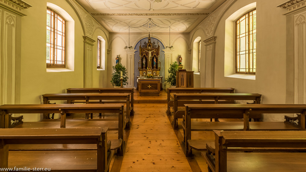 Kapelle der Hl. Magdalena im Alten Bad Pfäfers