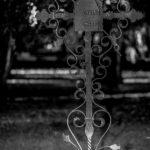 Grabkreuz am Alten Nordfriedhof in München