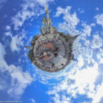 Cinderellas Castle in Disney's Magic Kingdom als Little Planet