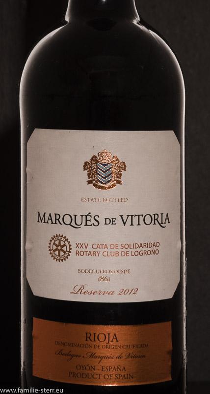 Etikett des Rotarier - Rioja