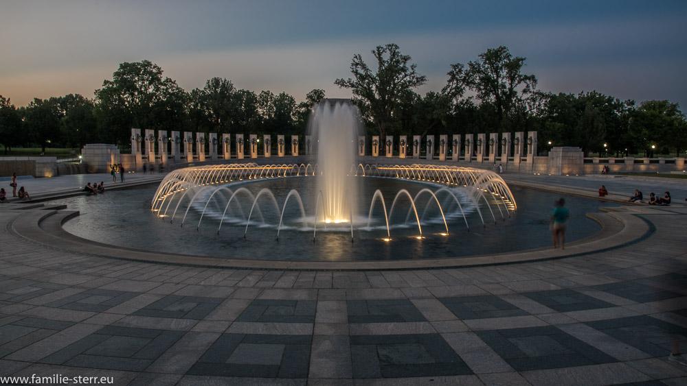 Das WW-II Memorial in Washington DC