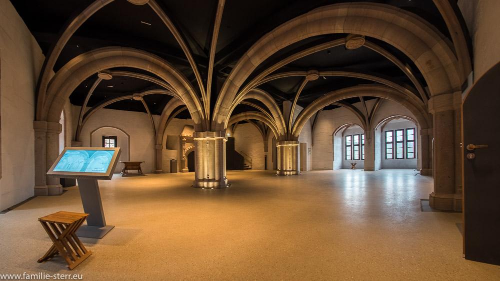 der Erkersaal im Alten Schloss / Burg Cadolzburg