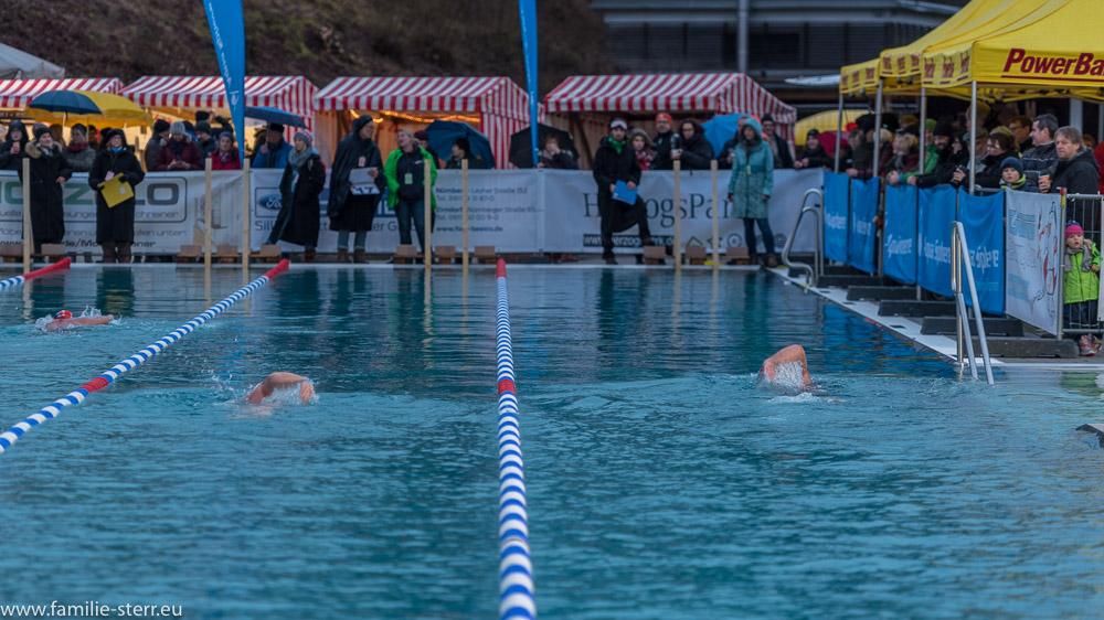 Veitsbad in Beitsbronn / German Open 2018 im Eisschwimmen