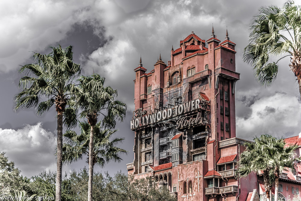 Hollywood Tower - Attraktion in den Hollywood Studios / Disney World Florida